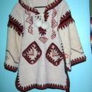Mexican Zapotec  Hand Woven Sweater