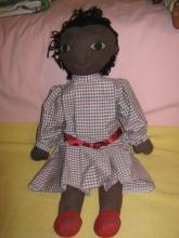African American Soft Doll hand Crafted
