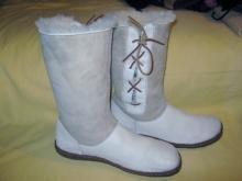 Boots Cold Weather Sheep Lined Leather