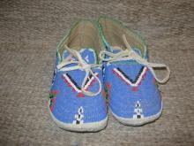 Sioux Beaded Moccasins Ca. 1880/1890