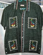 Guatemala Hand Woven Embroidered Shirt