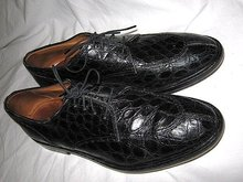 Crocadile Leather Italian  Mens Shoes