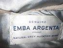 Mink Stole Natural Grey Mid Century
