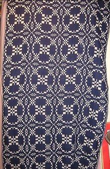 Jaquard Handwoven Wool Shawl