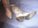 Italian Leather Boots By Versache Dollhouse
