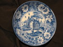 Historical 19thc Staffordshire blue and white English transferware bowl