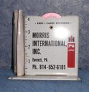 Rain Guage Morris International Inc