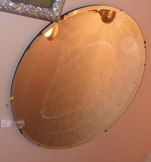 Oval Mirror w/beveled edge