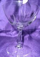 Vintage Crystal Etched  Stemware - Set of 8