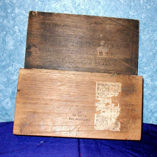 Cigar Box Wooden B1065