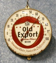 Thermometer Old Export B1733