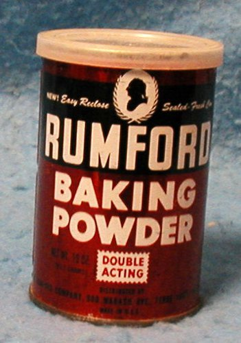 Rumford Baking Powder Tin B1884