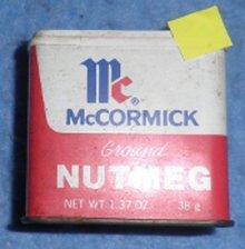 McCormick Nutmeg Spice Tin B3886