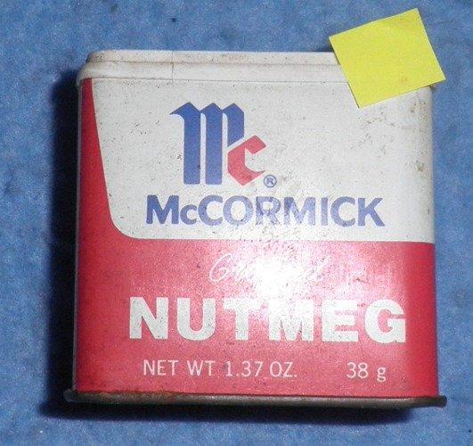 McCormick Nutmeg Spice Tin B3884