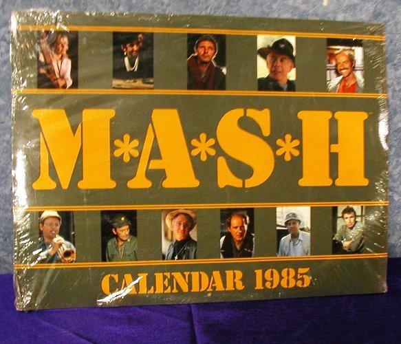 Mash Calendar 1985  Never Opened B2675