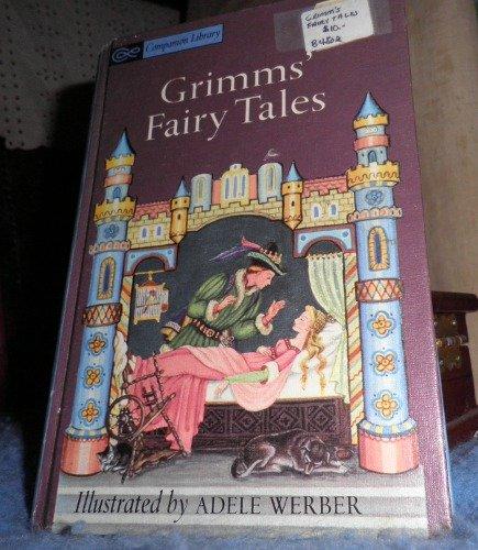 Book - Grimm's Fairy Tales B4802