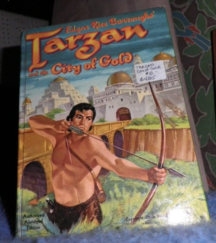 Book - Tarzan and the City of Gold B4805