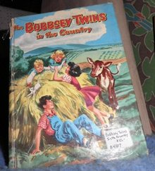 Book - The Bobbsey Twins in the Country B4807