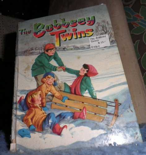 Book - The Bobbsey Twins Merry Days Indoors and Out B4808
