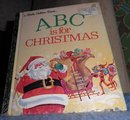 Book - A B C is for Christmas B4781