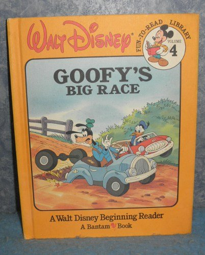 Book -Goofy's Big Race