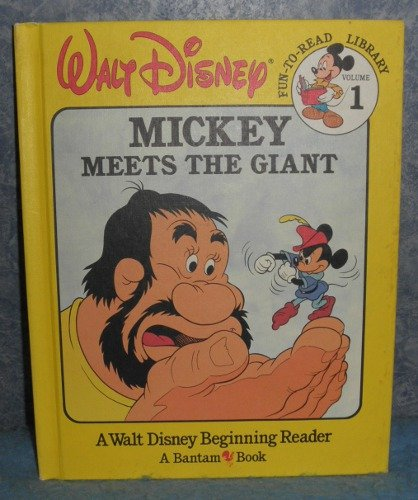Book - Mickey Meets the Giant