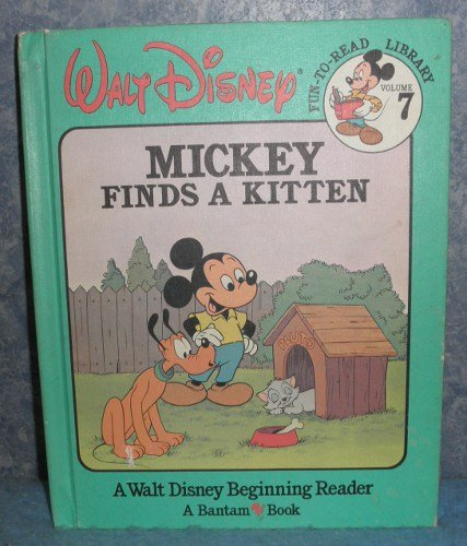 Book - Mickey Finds a Kitten