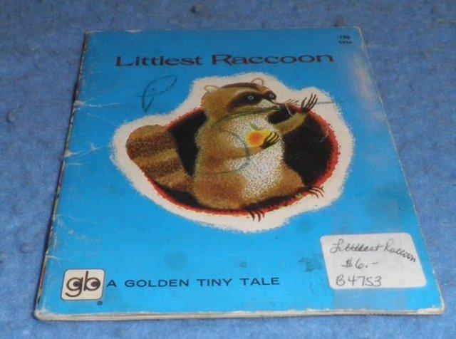 Book - Littlest Raccoon