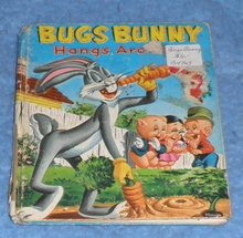 Book - Bugs Bunny Hangs Around