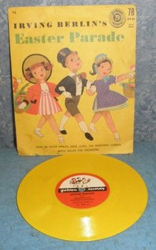 Record 78rpm Children's