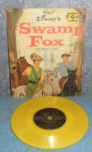 Record 78 rpm Walt Disney's Swamp Fox B4969