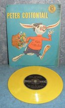 Record 78 rpm Peter Cottontail B4970