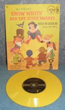 Record 78rpm Snow White