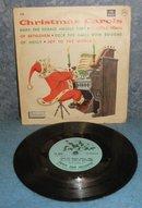 Record 78rpm Christmas Carols B4976