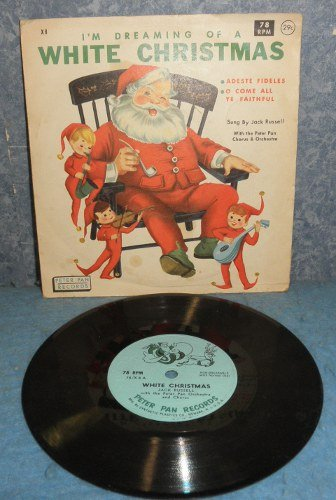 Record 78rpm White Christmas  B4977
