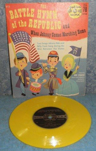 Record 78 rpm Battle Hymn of the Republic B4978