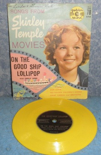Record 78 rpm Shirley Temple B4983