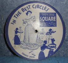 Record 78rpm Square Dancing  B4985