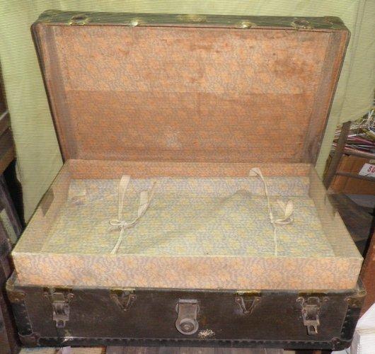 Vintage/Antique Square Trunk