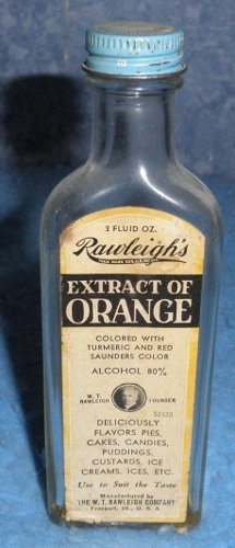Bottle Rawleigh's Extract of Orange