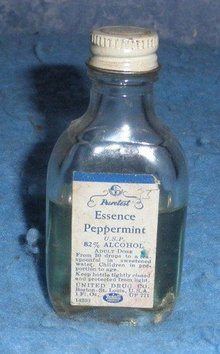 Bottle Puretest Essence Peppermint
