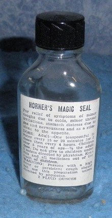 Bottle Horner's Magic Seal