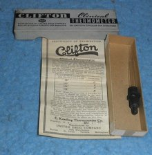 Clifton Clinical Thermometer Box