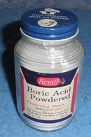 Boric Acid Bottle