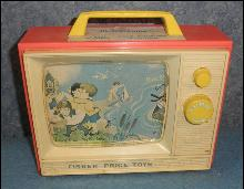 Child's Toy TV