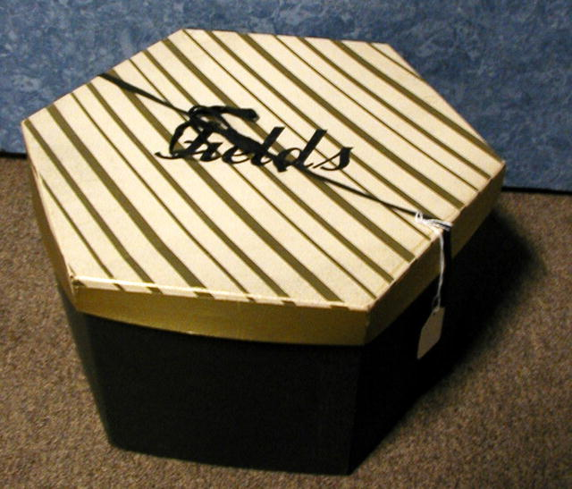 Hat Box --Fields - All Original