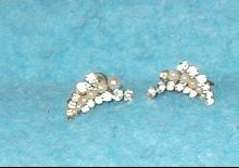 Earrings - Pearl & Rhinestone
