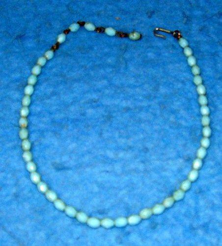 Necklace - Blue Beads