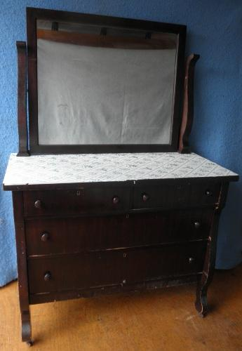 Empire Dresser with Mirror