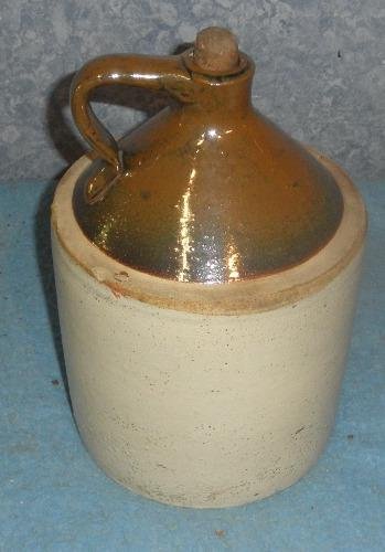 Brown & White Jug   RS150